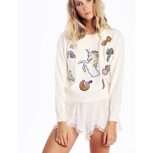 Wildfox Fairytale Friends Charlotte Sweater